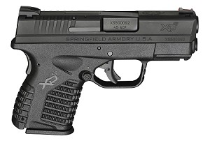 "SPH XDS 45ACP 3.3"" 5RD BLK"